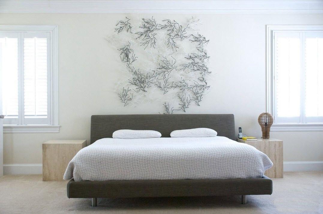цветовые решения спальни минимализм (4)