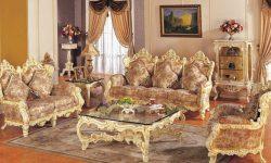 декорирование гостиной барокко (14)