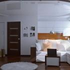 декорирование гостиной модерн (12)