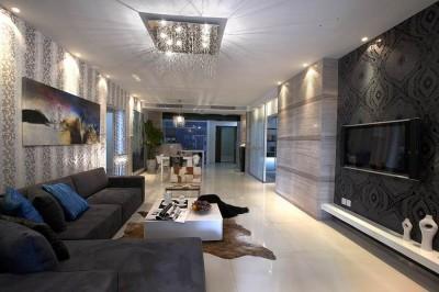 декорирование гостиной модерн (17)