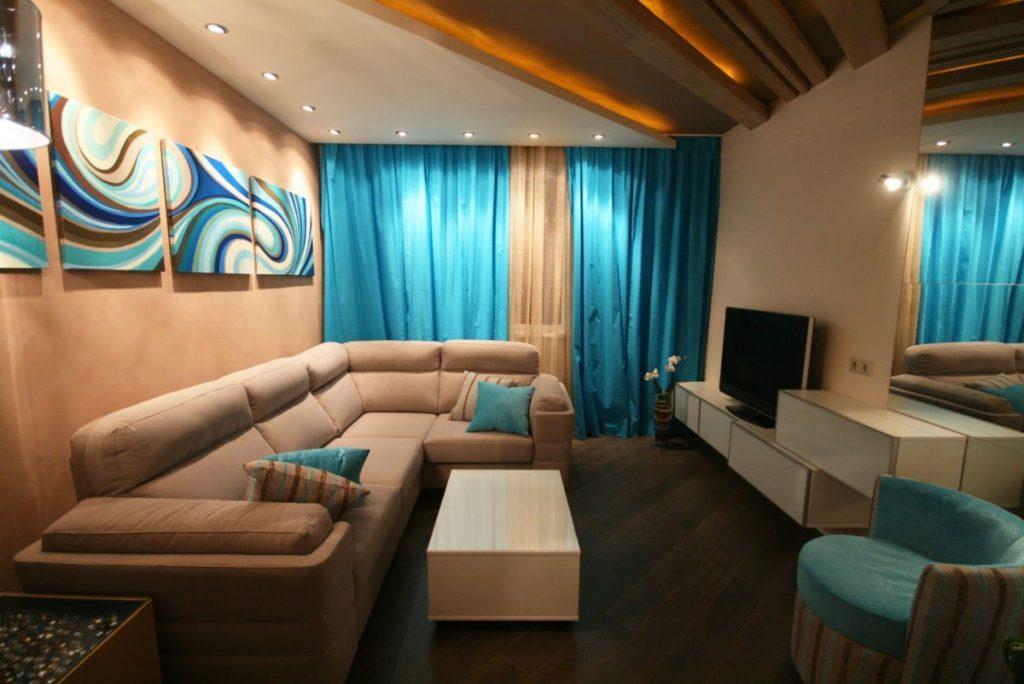 дизайн гостиной в хрущевке (9)