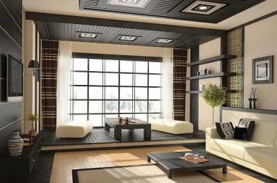 гостиная в стиле минимализм (17)