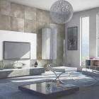 гостиная в стиле минимализм (19)