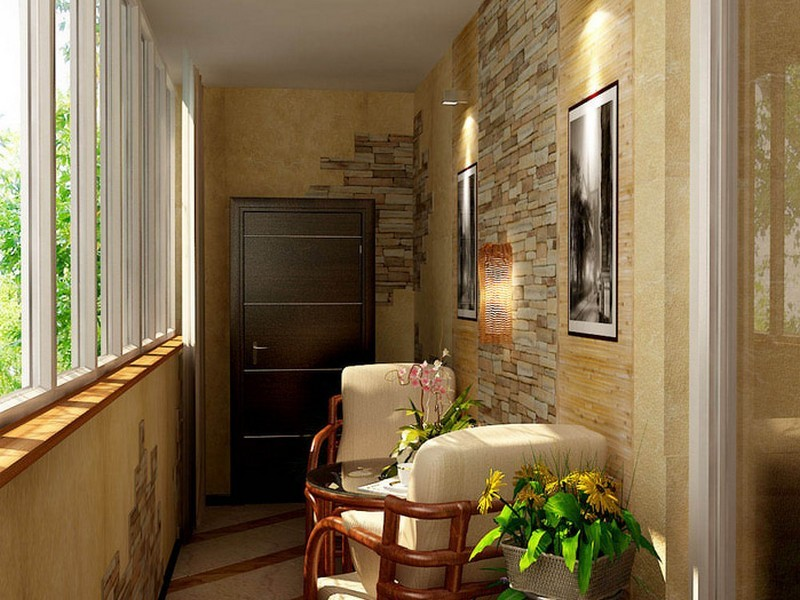 Дизайн балконов и лоджий фото (100+ идей оформления, 1 видео)