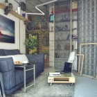 мебель для гостиной лофт (23)