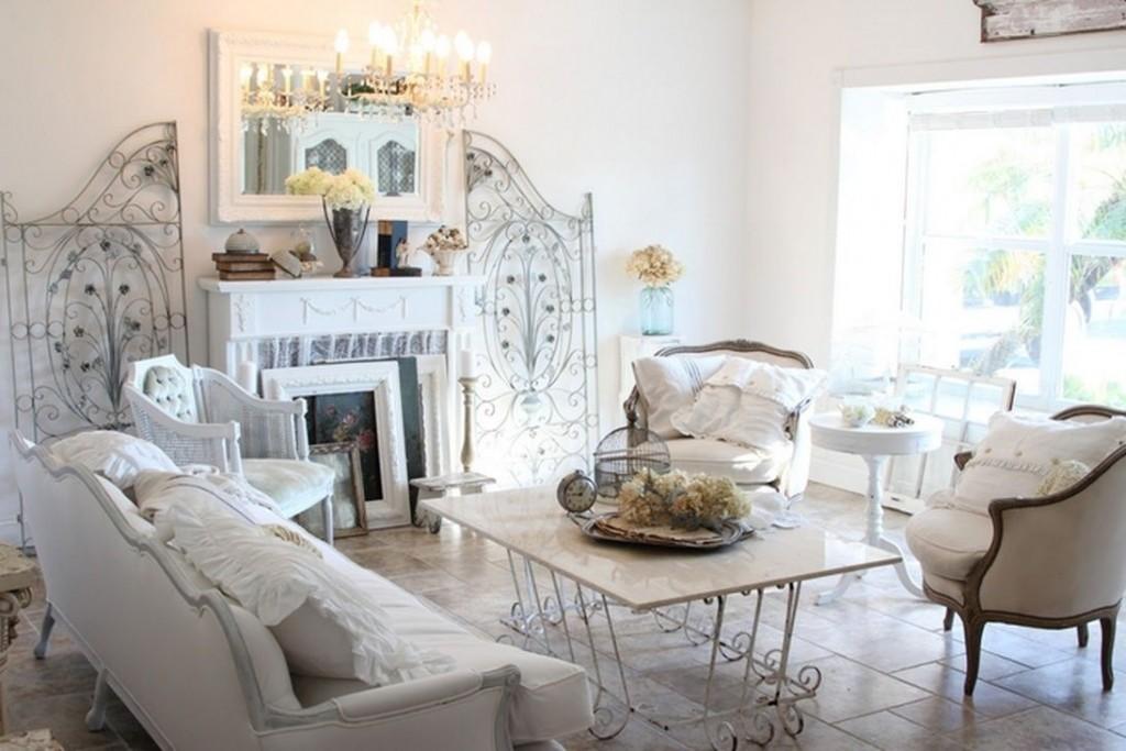 мебель для гостиной шебби шик (22)