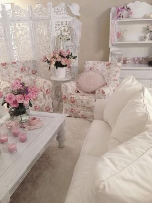 мебель для гостиной шебби шик (26)