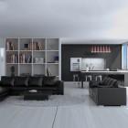 мебель для минималистской гостиной (12)