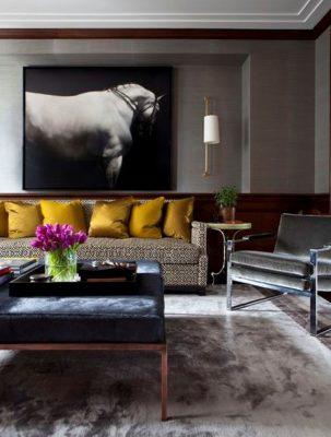 мебель в арт-деко гостиную (22)