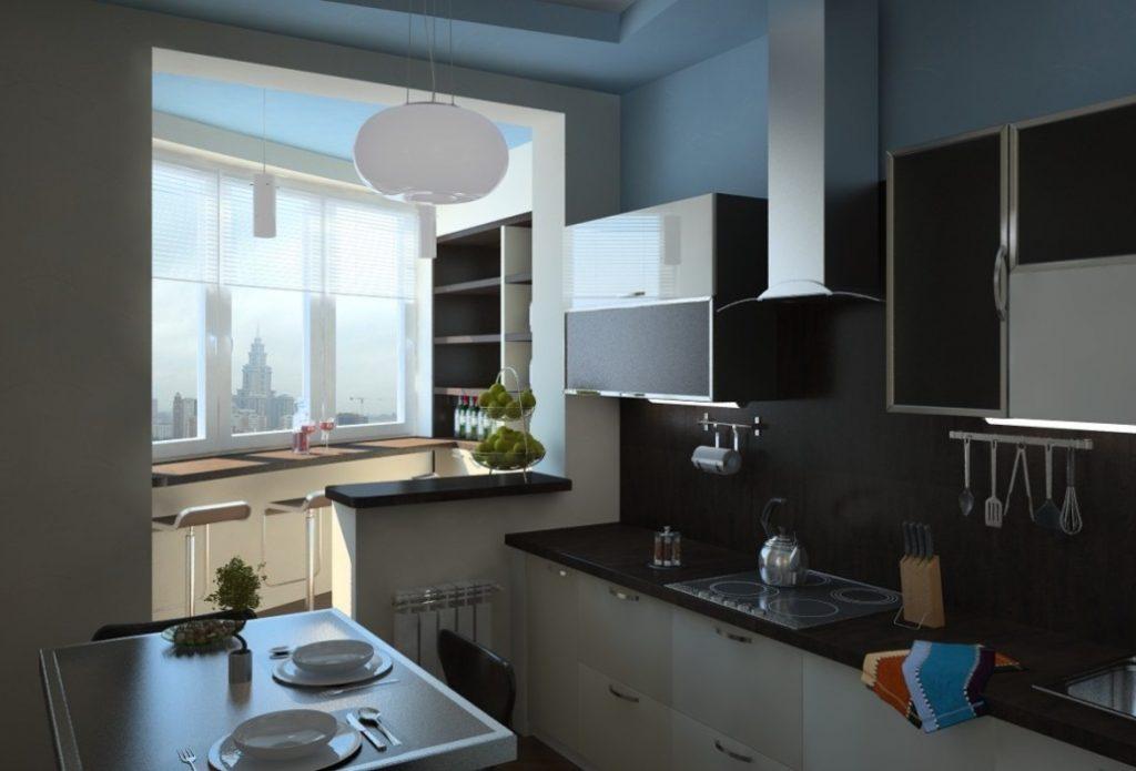 объединение балкона и квартиры (11)