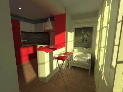 объединение балкона и квартиры (14)