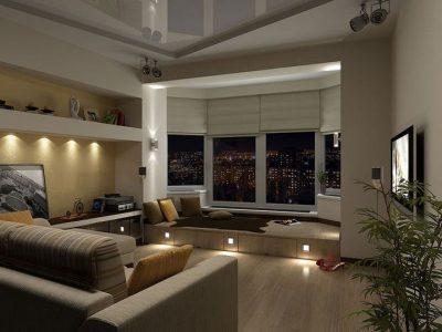 объединение балкона и квартиры (9)