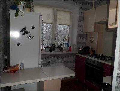 Перепланировка малогабаритной кухни (14)