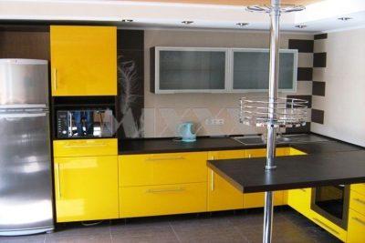 Планировка угловой кухни (31)