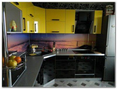 Планировка угловой кухни (40)