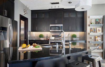 Планировка угловой кухни (70)