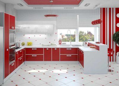 Планировка угловой кухни (75)