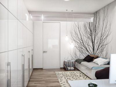декор маленькой спальни (24)