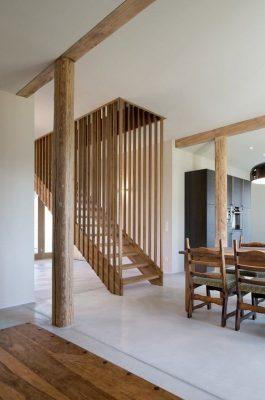 деревянные лестницы на 2 этаж (14)