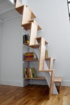 деревянные лестницы на 2 этаж (23)