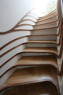 деревянные лестницы на 2 этаж (24)