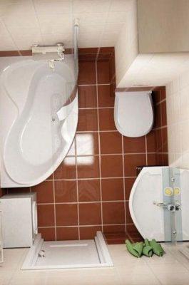 дизайн маленькой ванной (1)