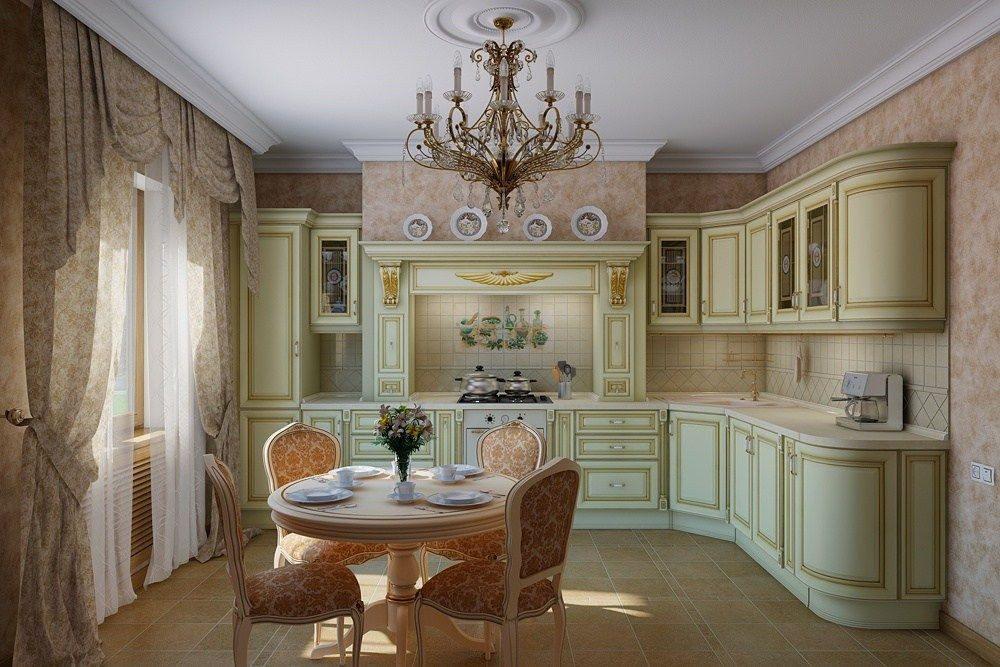 кухня в классическом стиле (2)