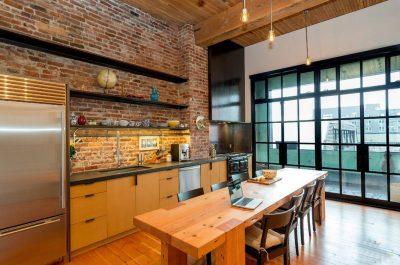 мебель в кухню лофт (19)