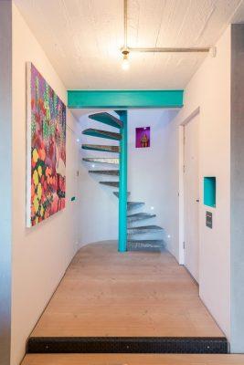 металлические лестницы на 2 этаж (8)