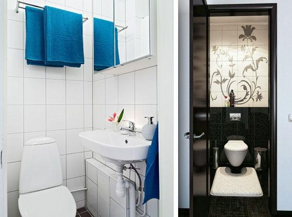 Дизайн маленького туалета фото