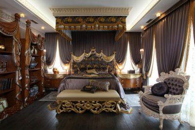оформление спальни барокко (11)