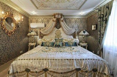 оформление спальни барокко (14)