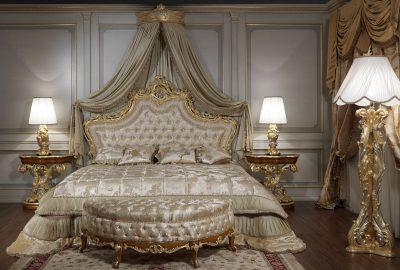 оформление спальни барокко (3)
