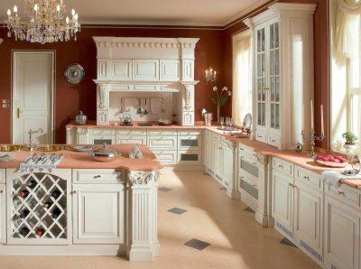 освещение в классической кухне (13)