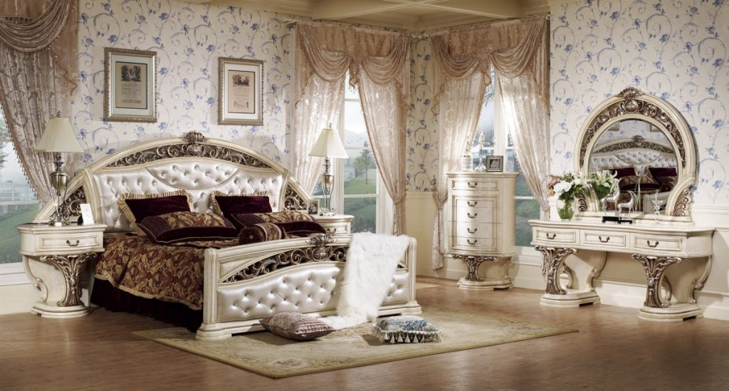 освещение в спальне барокко (15)