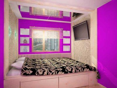 освещение в спальне-хрущевке (10)