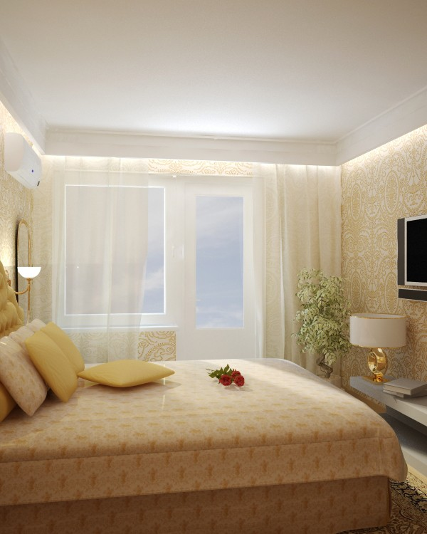Дизайн спальни в хрущевке (100 фото-решений, 3 видео).