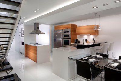 отделка кухни hi-tech (28)