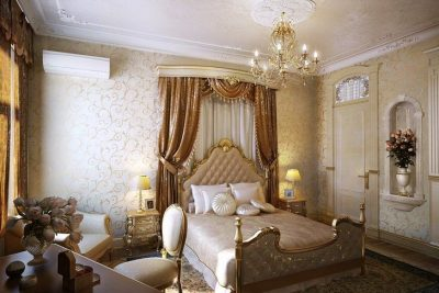 отделка спальни барокко (4)