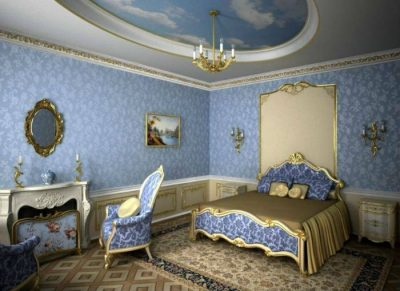 отделка спальни барокко (5)