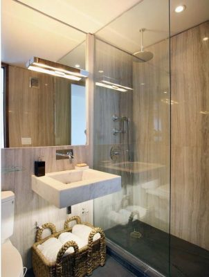 потолок в маленькой ванной (3)