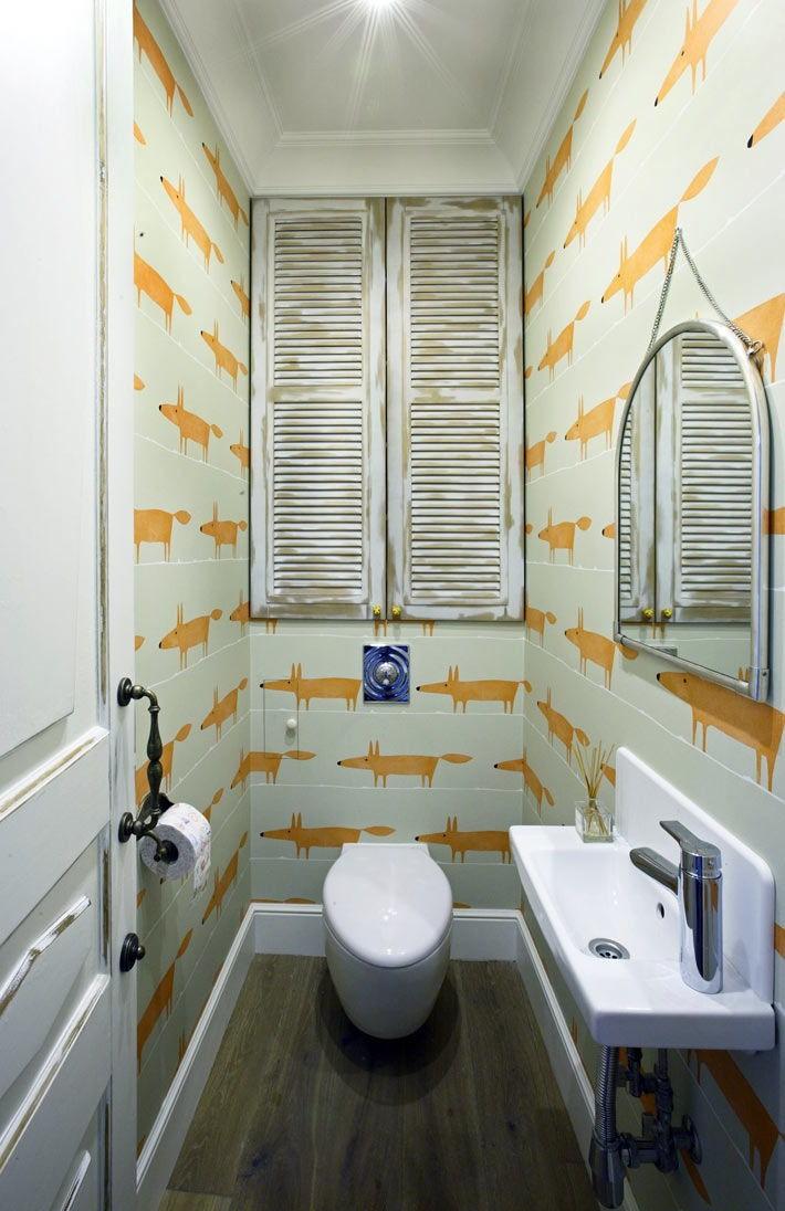 Фото ремонта туалета дизайн 14