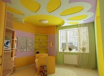 гипсокартонные потолки 2017 (38)