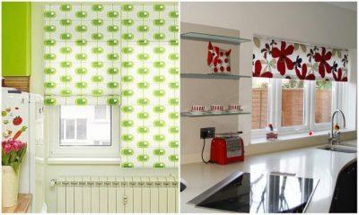 модные шторы для кухни 2017 (38)