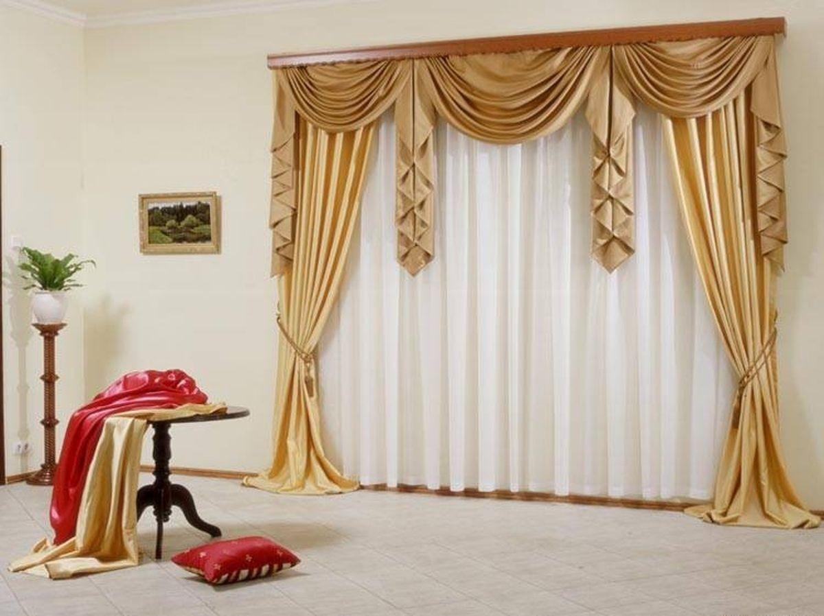 Дизайн штор ламбрекенов с