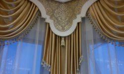 Красивые ламбрекены в зал