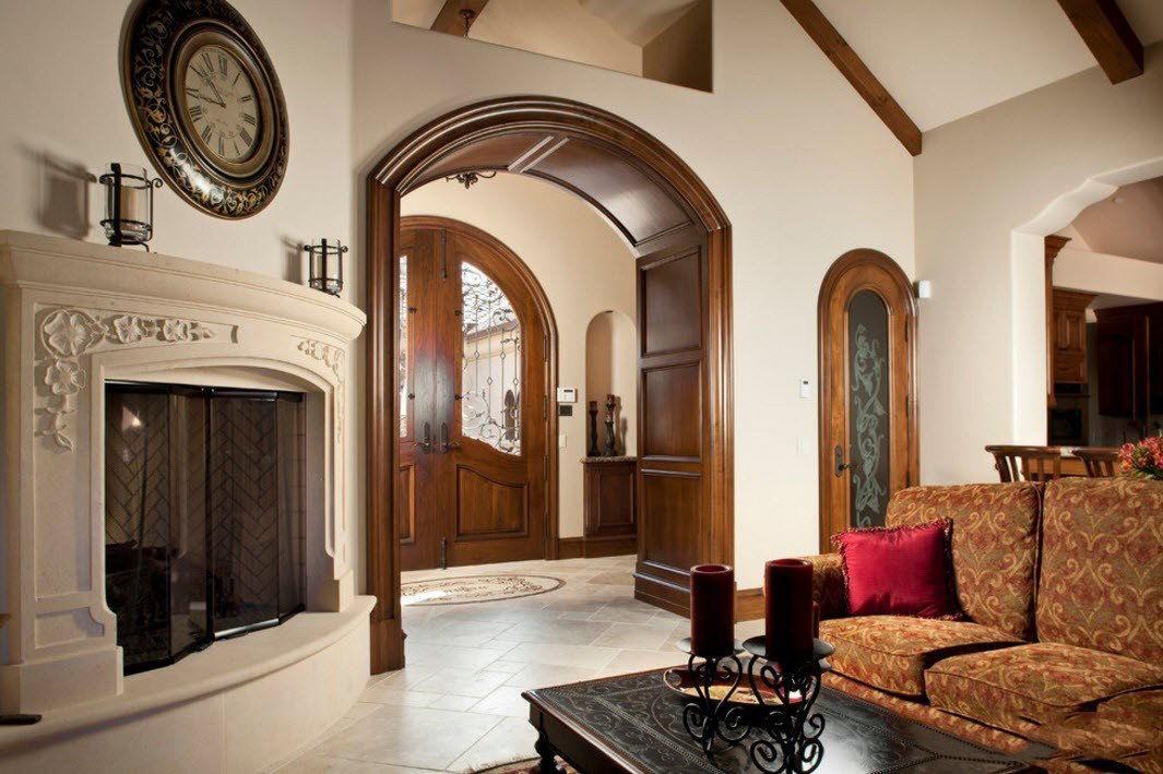 Дизайн интерьера арки фото