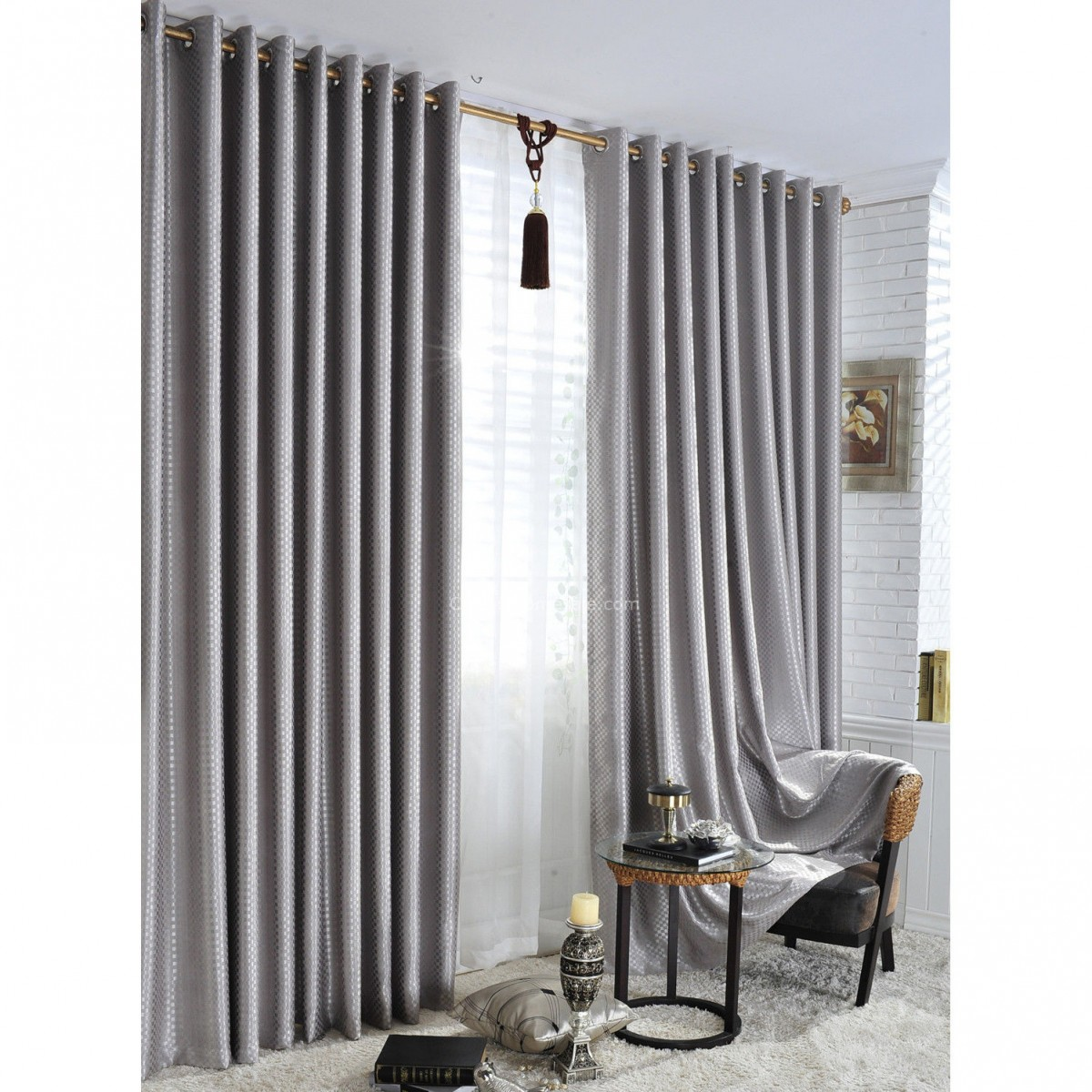 Hotel quality blackout curtains