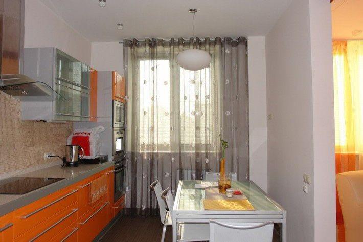тюль на кухне фото украина