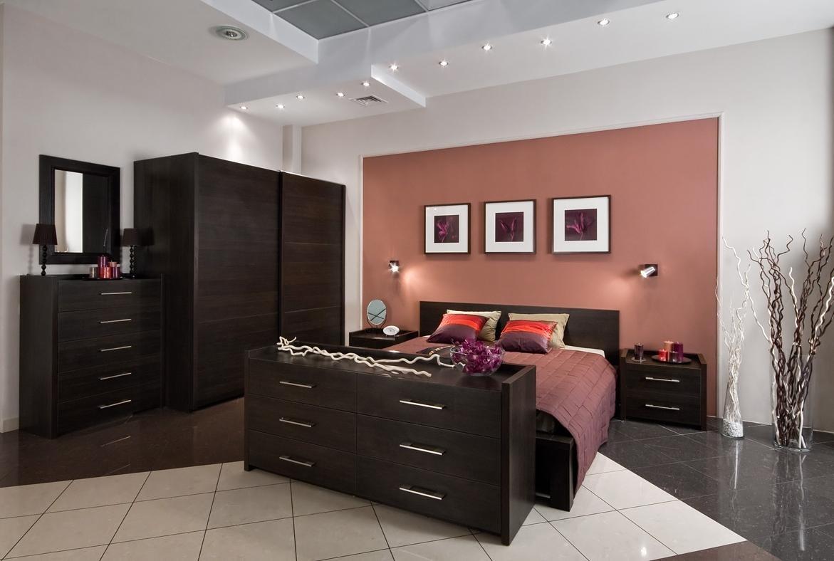 Дизайн спальни. мебель венге